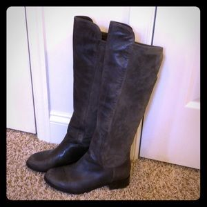 Cole Haan Gray Stretch Boots